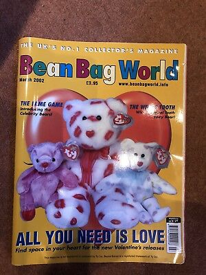 Bean Bag World Magazine March 2002