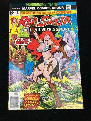 Red Sonja #1 (MARVEL) 1976 | HIGH GRADE ISSUE And UNREAD! | NM-