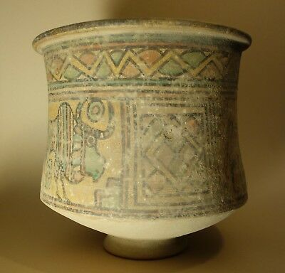 Replica Large Painted Harappan Indus Valley Pottery Jar