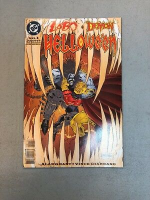 Lobo Demon Helloween #1 DC comics NM Alan Grant 1996