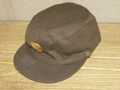 Original WWII U.S. Army WAC Wool Hobby Hat (Unissued Condition)