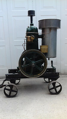 "Rare Bamford OV1 ""Jellymould Top"" Stationary Engine On Steerable Trolley"