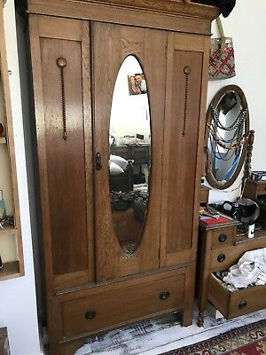 vintage arts and crafts  Wardrobe  & Dressing Table
