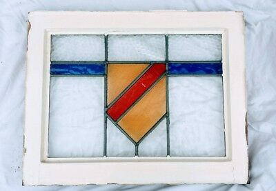 12 Original Leaded Stained Glass Windows From 1930s Property