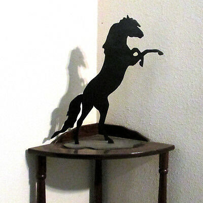 Horse, Metal Wall Art, Mustang, Wild Horse, Western, Home Decor, Statuette, New