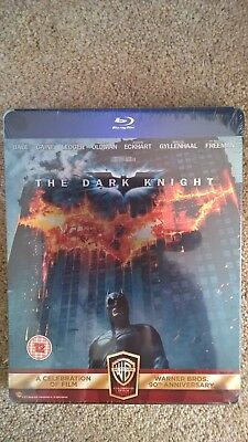 Batman The Dark Knight Steelbook Blu-ray brand new + sealed