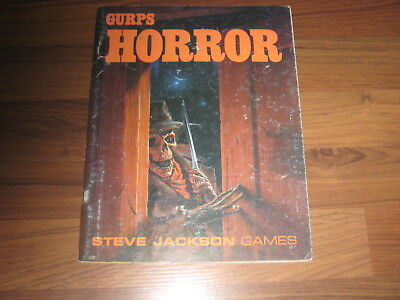 GURPS 3rd Edition Horror Second Edition Sourcebook 1990 Softcover