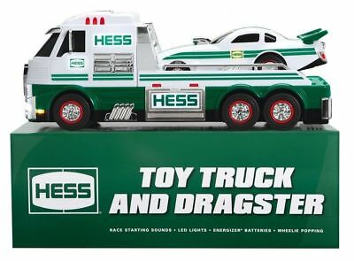 Hess 2016 Toy Truck and Dragster Brand New Fast Ship