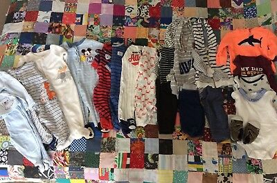 Carters & Disney Sleepwear, outfits, one pieces & shoes, sz 6 mo, lot of 20