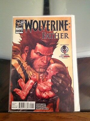 Uber Hot What If? Wolverine: Father Includes Venom Possessed Deadpool Pt2