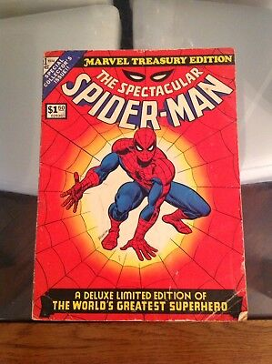 Mega Rare Key Spectacular Spiderman 1 Vol 1 Limited Deluxe Special Edition 1974