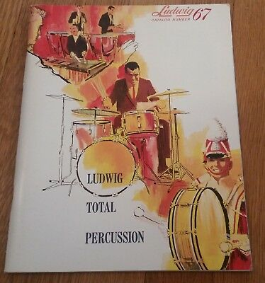1967 Ludwig Drum Company Catalog!