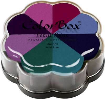 Multi-colour Colorbox Enchantment Pigment Petal Point Option Pad In 8 Colors