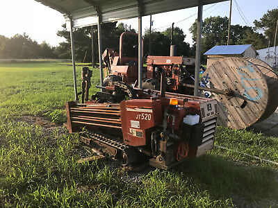 2002 Ditch Witch JT520 DIRECTIONAL DRILL, HDD MACHINE, USA ( VIDEO)