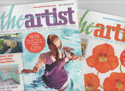 2 X The Artist Magazine - March & April 2013