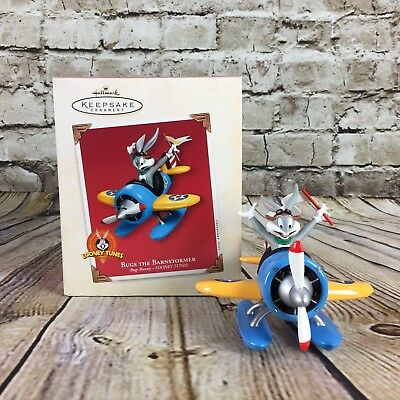 Hallmark Keepsake Bugs Bunny Bugs The Barnstormer Christmas Ornament