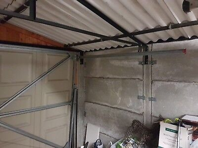 Compton Garage Apex Roof Steel Support Truss (One only)