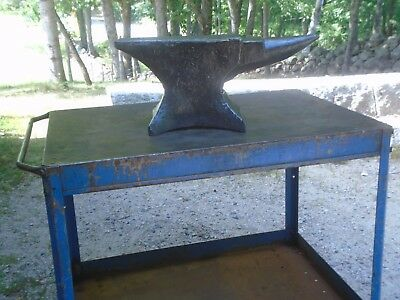 NICE BLACKSMITH ANVIL M&H ARMITAGE MOUSEHOLE FORGE Sheffield England Knife  Maker
