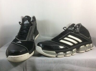 Adidas High Tops Men's Athletic Shoes Black Size 13 M Non-marking