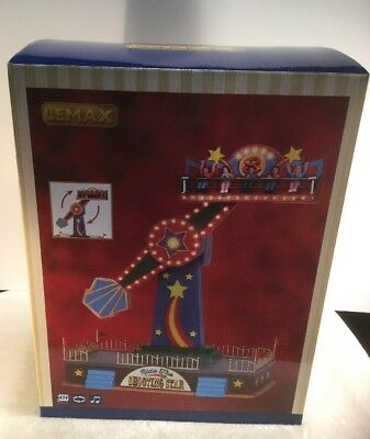 Lemax Village Carnival Collection Ride The Shooting Star #54918 Brand New in Box
