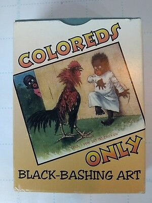 Rare vintage colored's only postcards