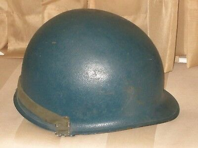 WWII US Army  M1 helmet with LINER FIRESTONE WESTINGHOUSE