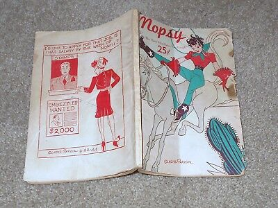 MOPSY 1945 Comic Books Mopsy THE MAID WHO MADE YOU LAUGH BY GLADYS PARKER