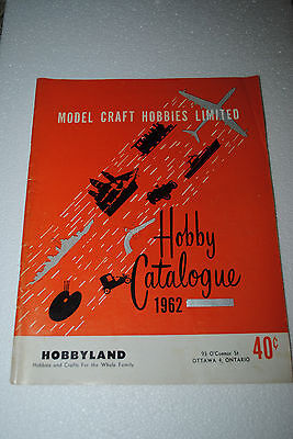1962 Model Toy Catalog Aurora Slot Car AMT Monogram Cox Revell Plane Train Boat