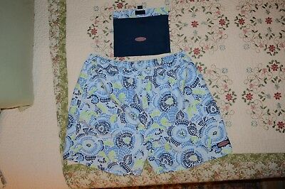 Mens Vineyard Vines Swim Trunks, Xxl With Pouch  N/w/o/t