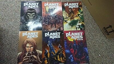 Boom! Comics Planet of the Apes Volume 1 - 5 + Cataclysm TPB 6 Books Collection