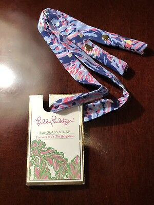 Lilly Pulitzer Sunglasses Strap- In The Bungalows.