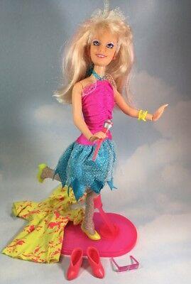 Jem and the Holograms FLASH N SIZZLE JEM doll & Accessories vintage Hasbro