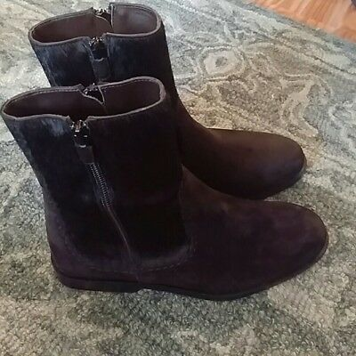 Ankle boots Hogan Women - Leather / hair  Black size 7.5
