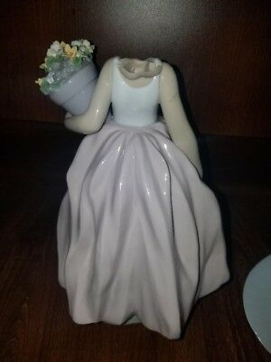 Lladro # 7676 A Wish Come True 1999 Broken ( clean Break) can be fixed