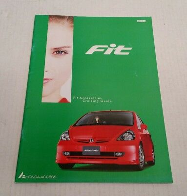 2001 Honda Fit Access Accessories Catalog Brochure 1g Jazz Modulo Japan HTF