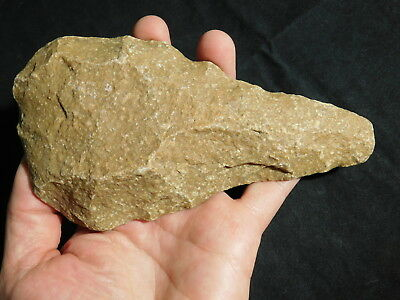 A BIG ONE Million Year Old Early Stone Age ACHEULEAN Hand Axe or Handaxe 475gr