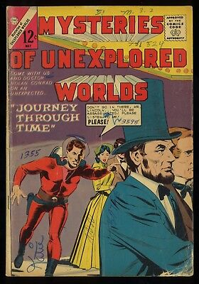(Silver Age)  Mysteries of Unexplored Worlds #41