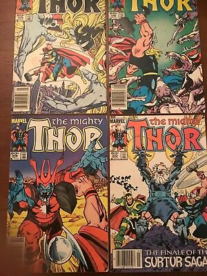 Mighty Thor Comic lot 31 books