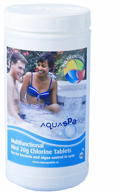Multifunctional Chlorine Tablets 50 x 20g Hot Tub Swimming Pool & Spa Chemicals