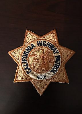 California Highway Patrol Star Patch