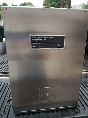 Ansul R-102 Dual Cylinder Stainless Steel Enclosure Part # 429872