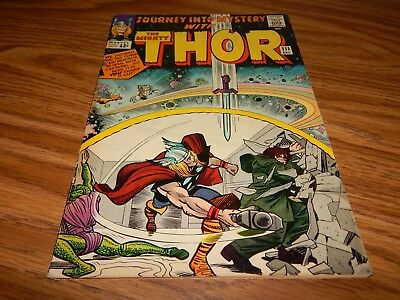 """Silver Age Comic EARLY Thor # 111 """"Mr. Hyde & Cobra""""  FN+ Condition"""