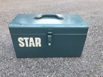Vintage Star Powder Actuated Tool in Solid Steel Case - Model 100 - USA Made