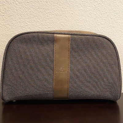 Bvlgari Travel Wash Bag Mens New Emirates Luxury Collectables