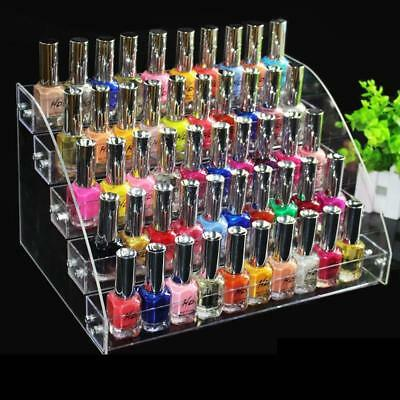 Acrylique Nail Display Holder polonais Make-Up Stand Organisateur Clear Storage
