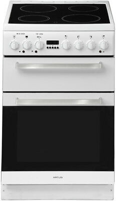 Artusi 54cm Electric Freestanding Cooker - AFDC5470W