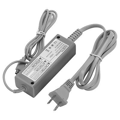 AC Wall Charger Power Supply Adapter Cable for Nintendo Wii U Gamepad Controller