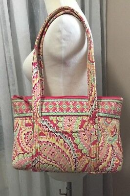 a288783efd83 VERA BRADLEY CAPRI Melon Retired Pattern Cross body Messenger Bag ...
