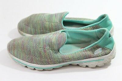 98e6cb7c3428 SKECHERS 13958 PERFORMANCE Womens Go Walk 2 Hypo Slip-On Walking Size 10  (D) -  17.00