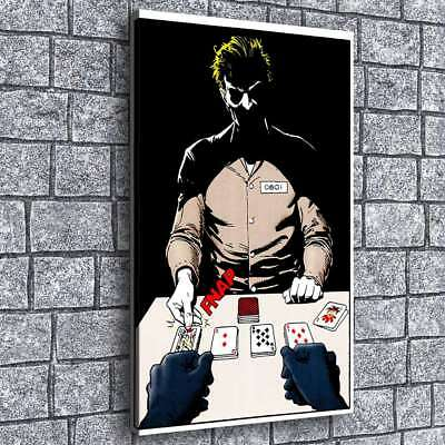 Poker Jack Poster Painting HD Print on Canvas Home Decor Room Wall Art Poster